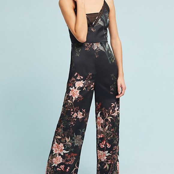 Anthropologie Pants - NWT ANTHROPOLOGIE Adelyn Rosanna Floral Jumpsuit M